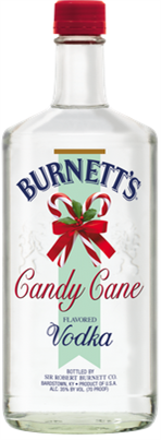 Burnetts Vodka Candy Cane